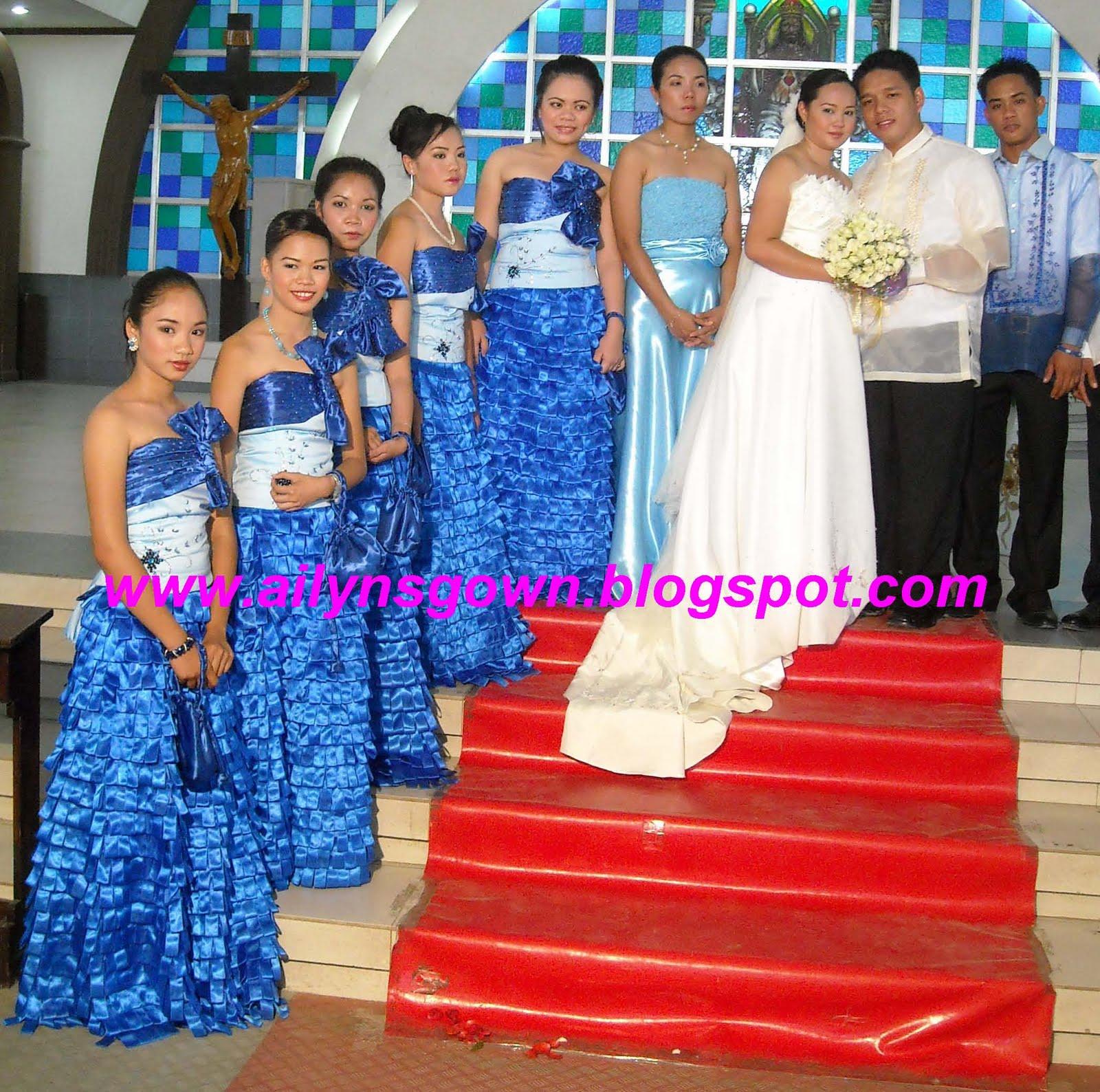 Wedding Entourage Gowns: Ailyn's Gown: Wedding Entourage