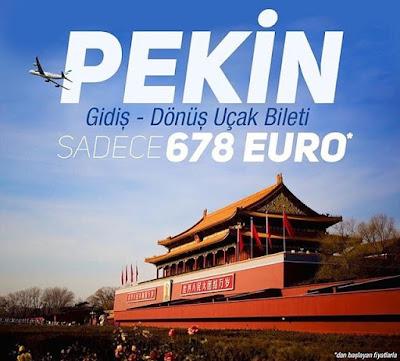 Pekin Uçak Bileti