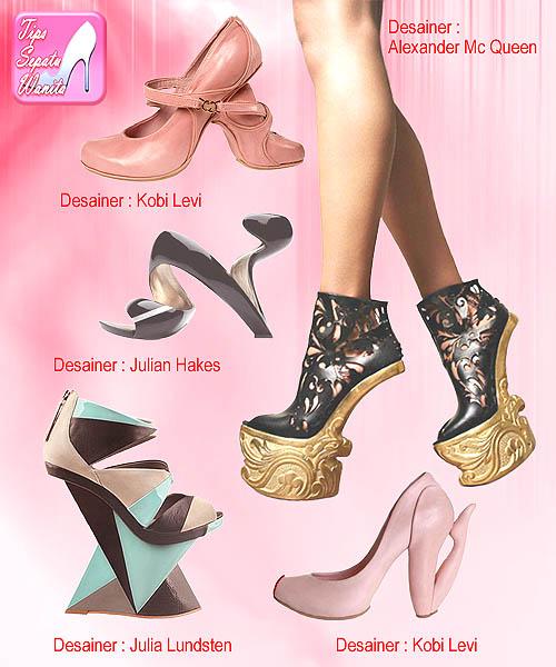 Dengan keunikannya itulah creative heels menjadi sepatu berpenampilan luar  biasa. Padahal dengan bekal kreativitas Anda juga bisa mendesain heels yang  tidak ... fdc5bf044e