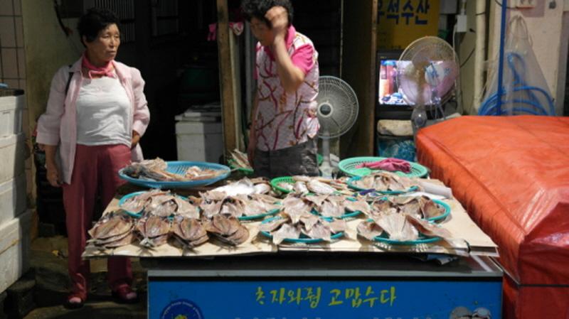 Jeju island english speaking tour guide jeju travel mr for Fish market long island