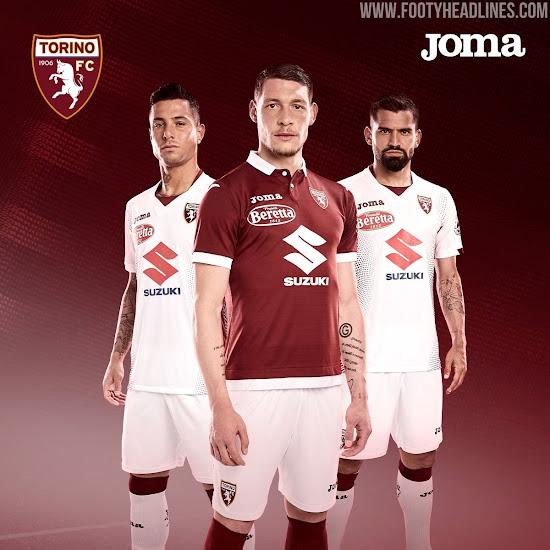 Torino 19-20 Home & Away Kits Revealed - Footy Headlines