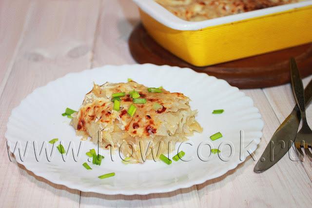 рецепт капустной запеканки как в садике