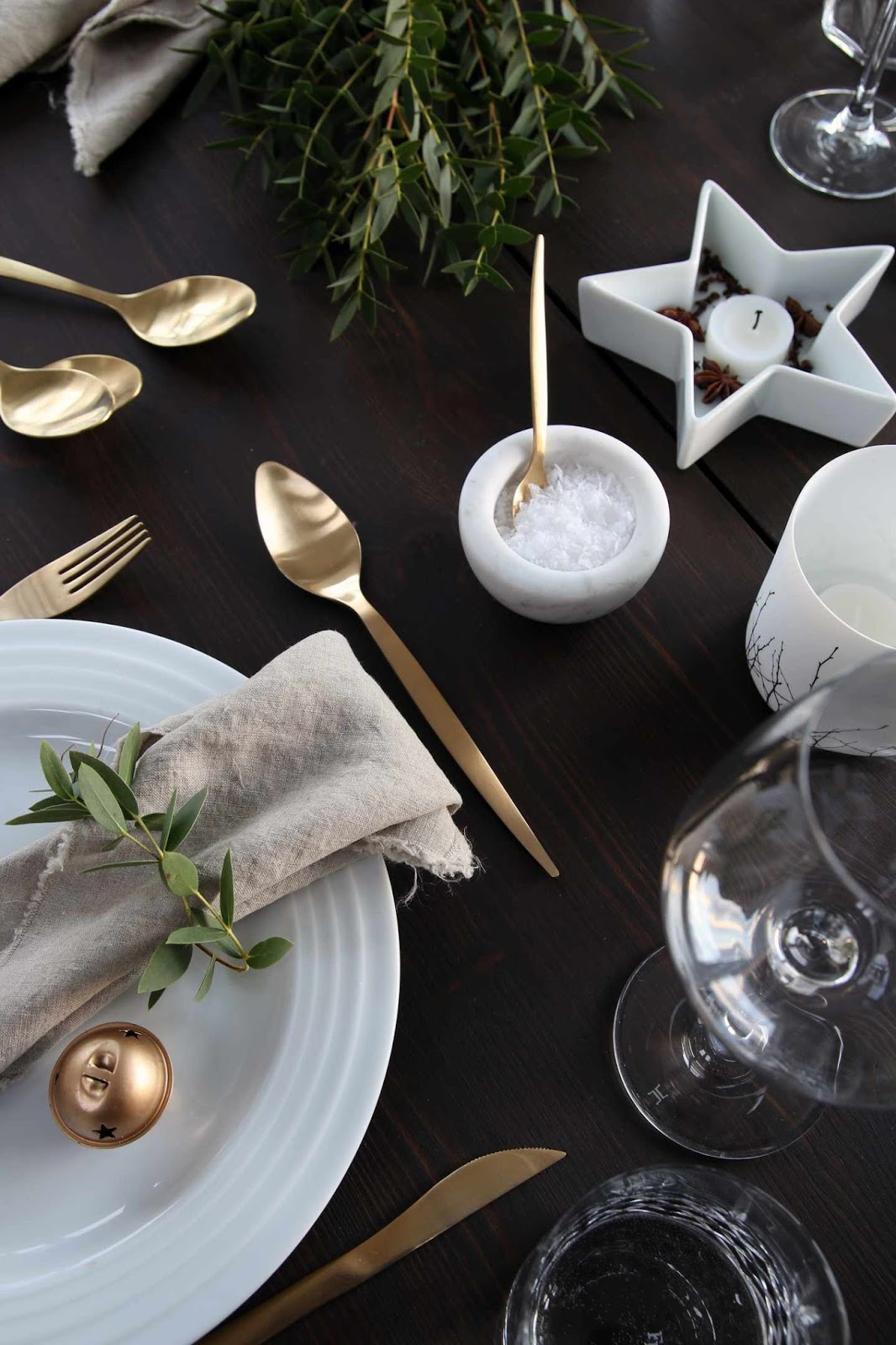 Table setting xmas ideas