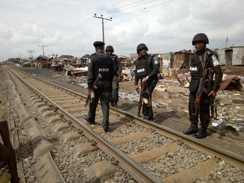 Police parade Lagos community threatened by Hausa/Fulani violence