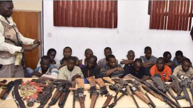 See Photo Of 17 Suspects Involved In Southern Kaduna Killings