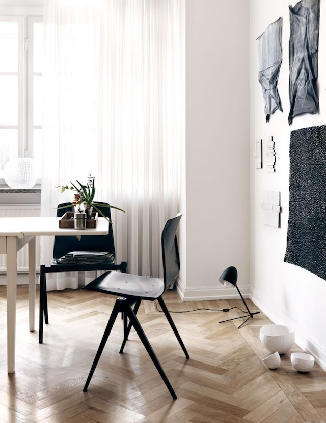 The creative home of a swedish artist my scandinavian for Asas interhome decoration