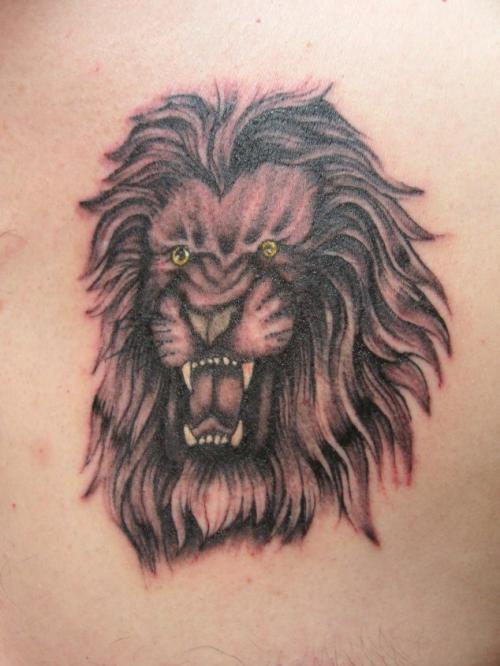 3eb8e3b03 Indian Lion Tat Tattoo | Fresh Tattoo Ideas