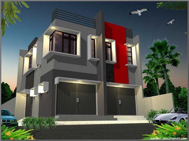 27 Contoh Desain Rumah Toko Minimalis Cocok Untuk Investasi 100