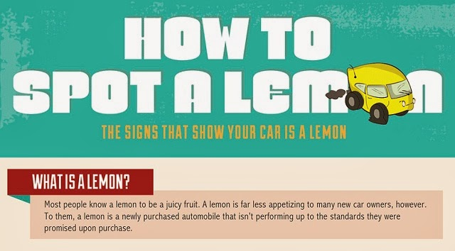 Infographic: How To Spot A Lemon