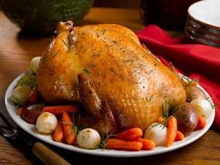 Pollo al Horno, con Vegetales
