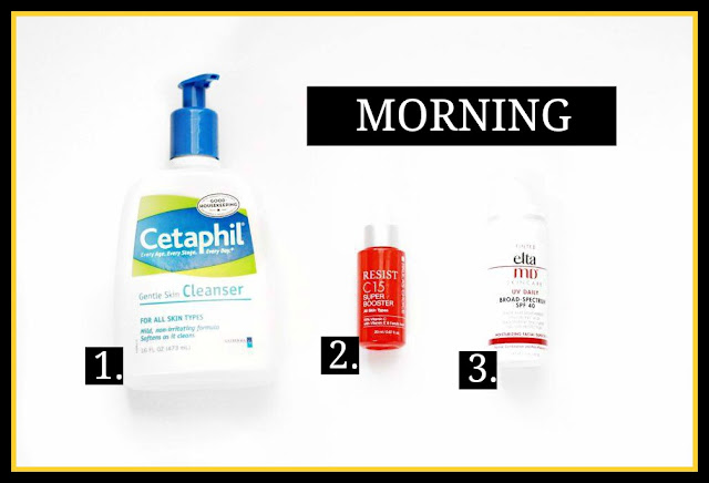 morning skin care