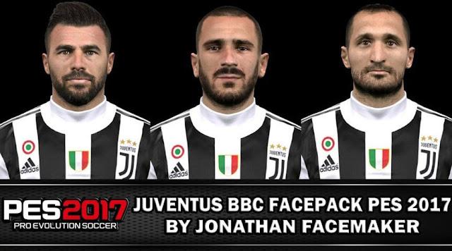 Juventus Facepack PES 2017
