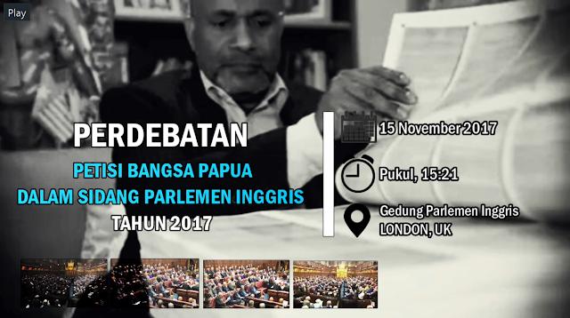 VIDEO dan TRANSKRIP: Perdebatan Petisi Bangsa Papua Dalam Sidang Parlemen Inggris 2017