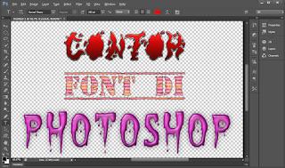 Contoh Font Keren Di Photoshop