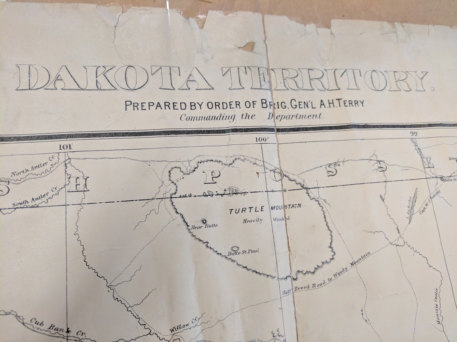 i was particularly interested in the missouri and little missouri river watersheds honing in on my stomping grounds in what is now western north dakota
