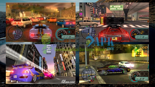 Game Midnight Club Los Angeles Remix ISO CSO High Compress PPSSPP