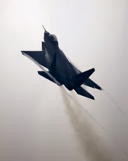 Chinese FC-31/J-31 Falcon Eagle Stealth 5th Generation Fighter Aircraft in Action