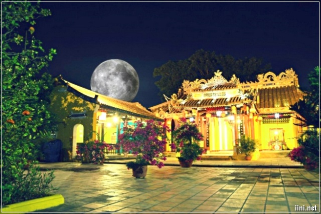 ánh trăng ngày trung thu