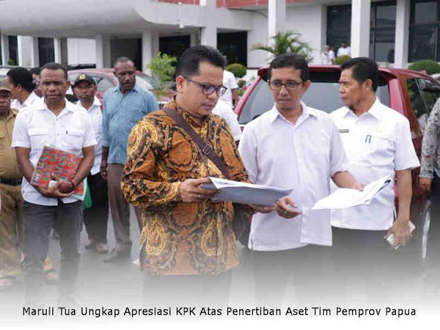 Maruli Tua Ungkap Apresiasi KPK Atas Penertiban Aset Tim Pemprov Papua
