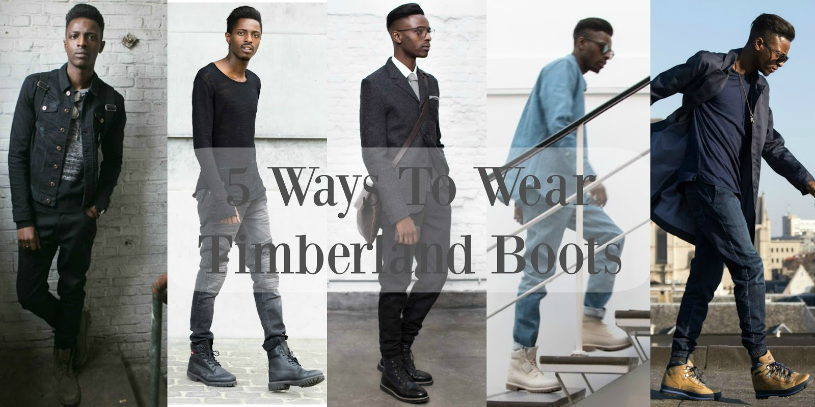 67fa1f42861 #1 : Smarten Up with Black Britton Hill Timbs. Sorry - not sorry - for  starting off with a not-so-obvious way to style your Timberland boots.
