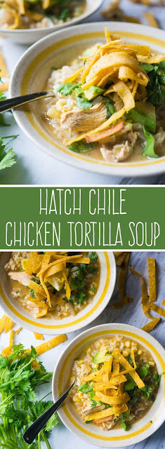 Hatch Chile Chicken Tortilla Soup