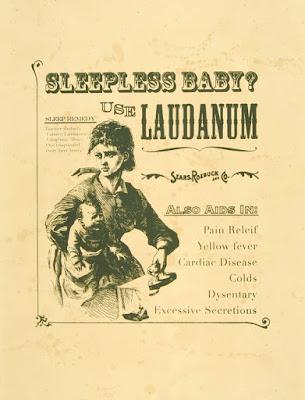 Sleepless Baby? Use Laudanum