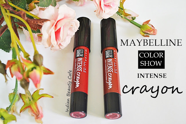 Maybelline Color Show Intense Crayon review swatches price details photos buy online india