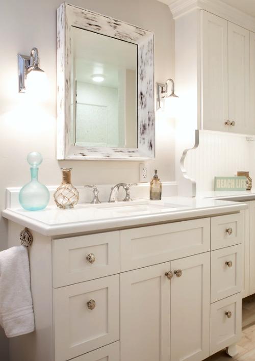 Decorative Bathroom Mirrors Coastal  Nautical Style