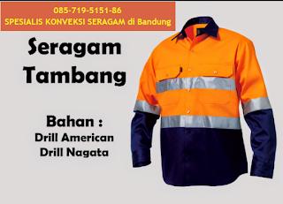 Konveksi Baju Seragam Wearpack