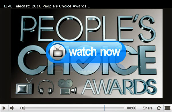 People's Choice Awards 2016 | Live Stream Broadcast, Nominees, Schedule