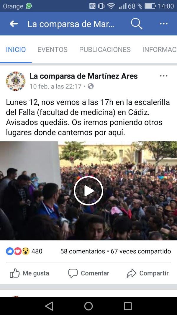 Actuación Hoy Lunes de El Perro Andalú