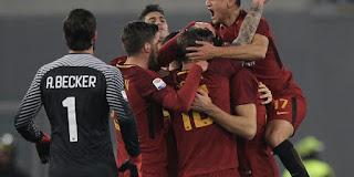 مشاهدة مباراة روما وسامبدوريا AS Roma vs Sampdoria بث مباشر اليوم 28-1-2018 الدوري الإيطالي