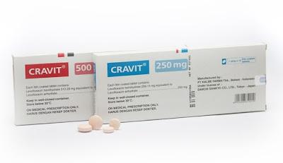 Cravit - Manfaat, Dosis, Efek Samping dan Harga