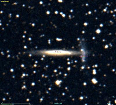 LEDA 2812073 galaxy beside MCG 4-44-10