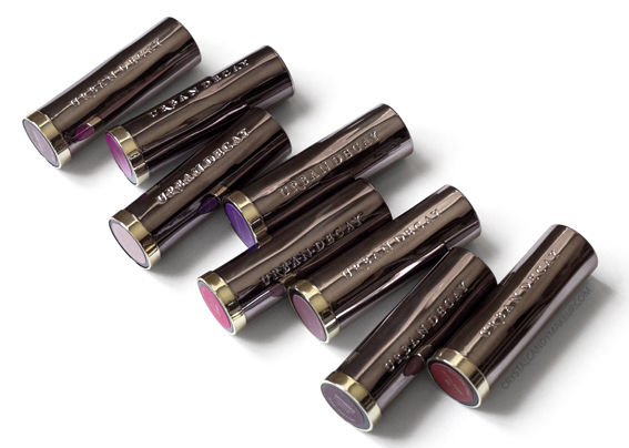 Urban Decay UD Vice Lipsticks Review Photos