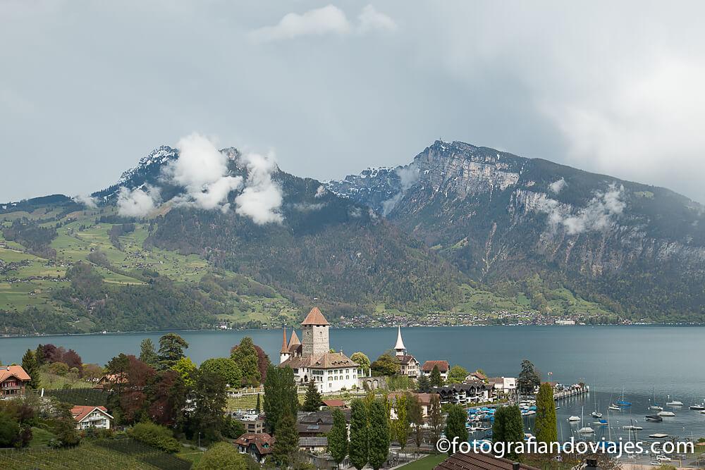 Castillo de Spiez Suiza