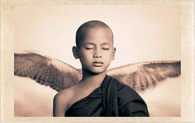 niño con alas