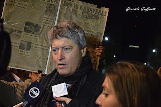 22a Marcha del Silencio. 2017. Montevideo, Uruguay, Rafael Michelini