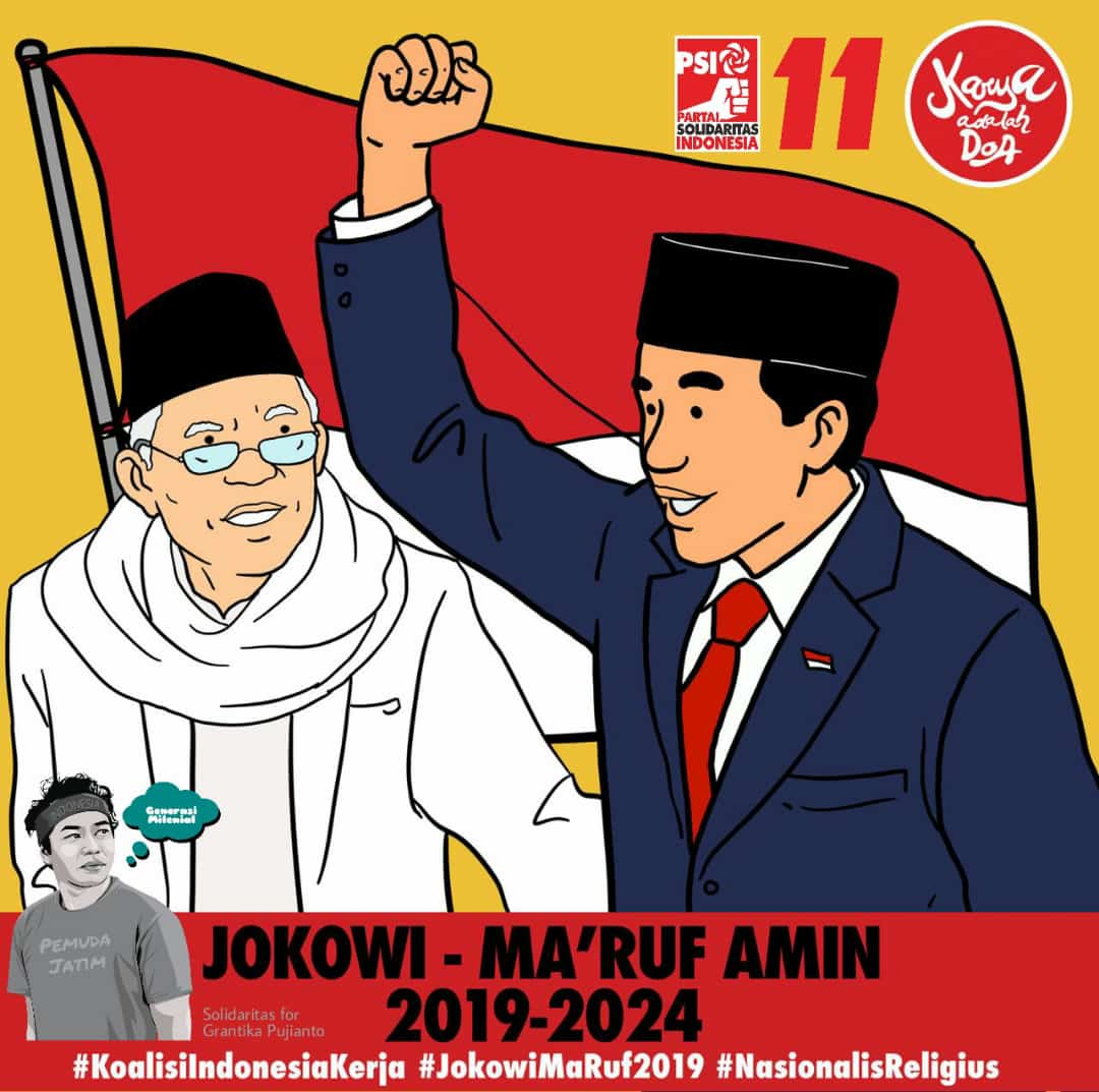 Langkah Cantik Jokowi Menuju Pilpres 2019 Barisan Pembaharuan Jendral Kardus