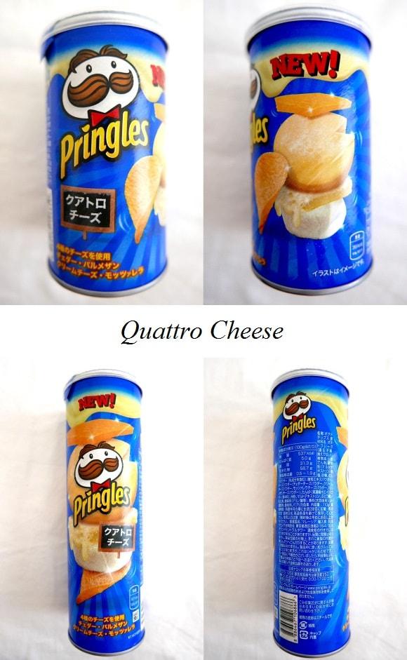 Pringles Quattro Cheese