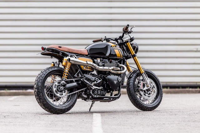 Triumph Thruxton R By Down & Out Cafe Racers Hell Kustom
