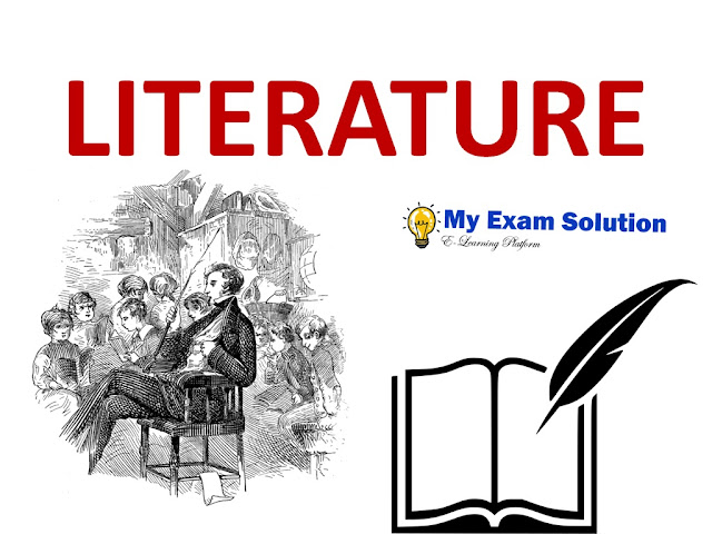 literature, what is literature, ugc net jrf, english literature, myexamsolution