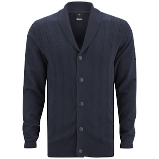 Bench Men's Klunk Cable Knitted Cardigan - Navy. 25,39 €