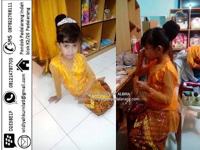 Tempat sewa baju kebaya adat anak untuk Kartinian