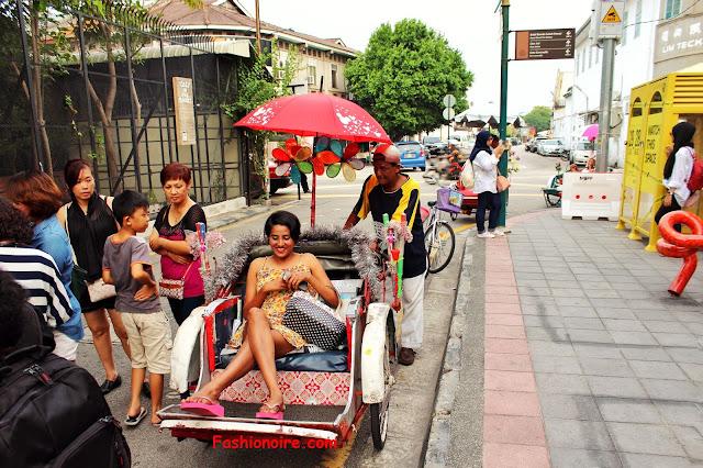 Street Fashion - Armenian Street Penang, Malaysia
