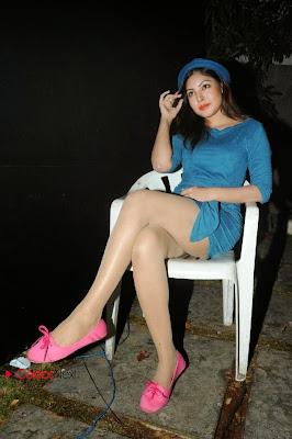Komal Jha Thighs Show In Short Dress At Fncc New Year 2014