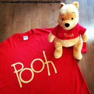 The  font  I used was freehanded but if you donu0027t feel comfortable doing that you can always print out your favorite Pooh style font enlarged on cardstock ... & DIY Tigger T-Shirt Costume | Speaking of Disney...