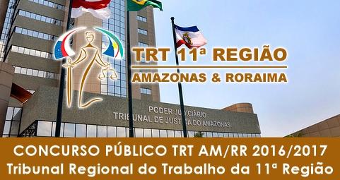 Apostila Concurso TRT11 2017