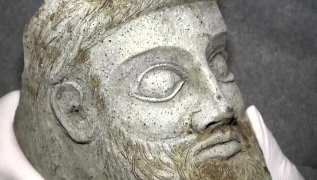 При строительстве Крымского моста нашли терракотовую голову
