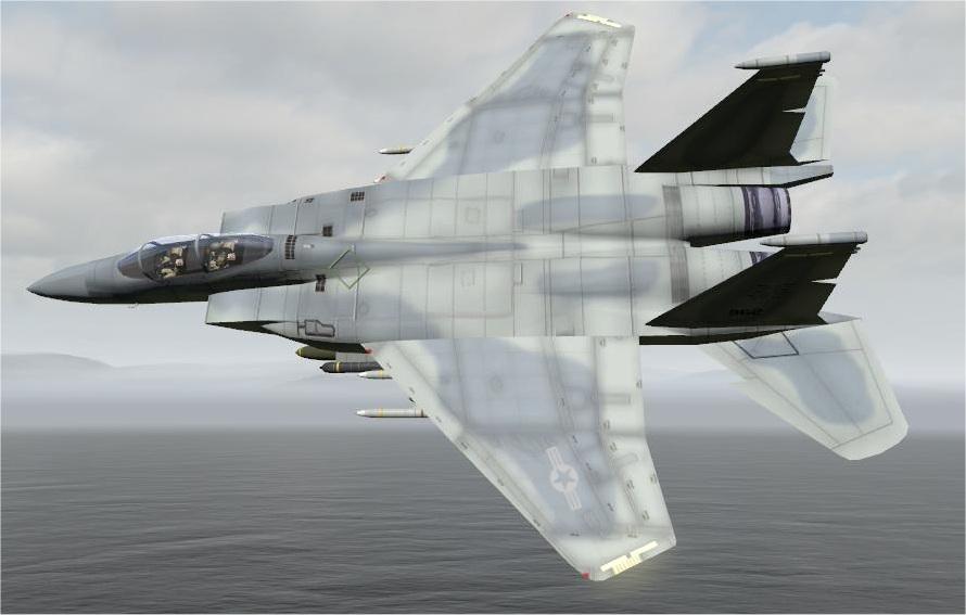 弱者の日記^^ArmA2 F-15 イーグル/ストライク・イーグル アドオン